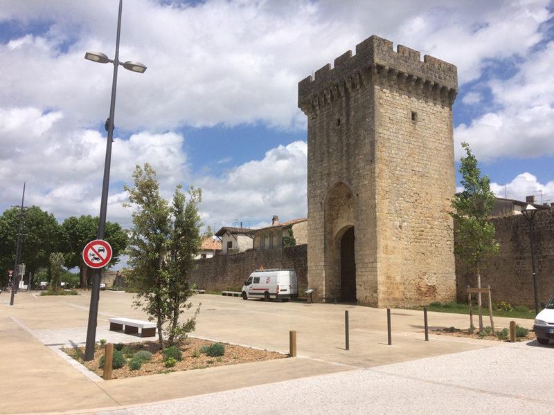 CADILLAC I MISSION DE MAÎTRISE D'ŒUVRE, AMÉNAGEMENT DE L'ESPLANADE DES REMPARTS
